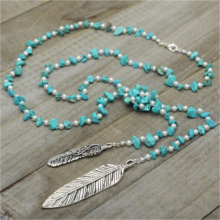 Turquoise Spirit Necklace