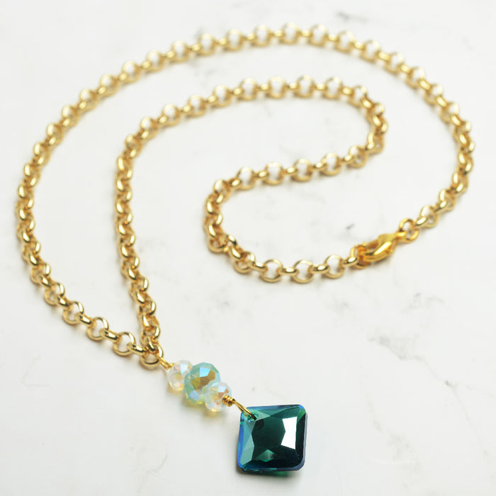 Emerald Princess Necklace