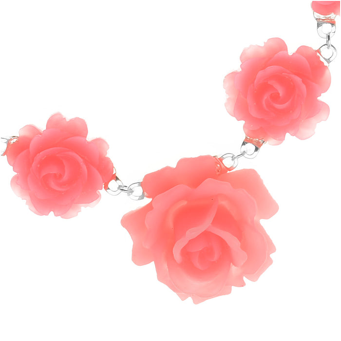 Retired - English Rose Necklace