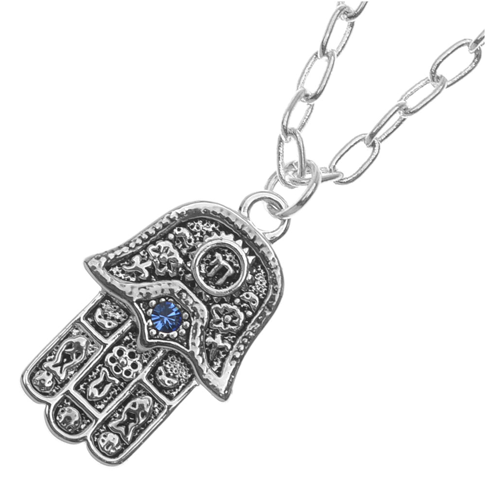 Lucky Hamsa Hand Necklace