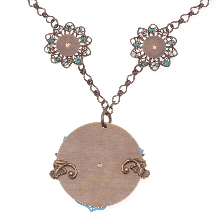 Retired - Pressed Flowers Necklace
