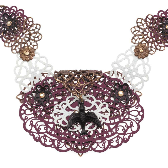 Retired - French Lace Necklace
