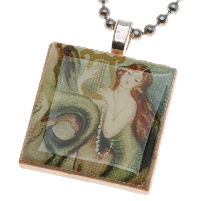 Retired - 'Scrabble' Tile Pendant using 1-Part Resin