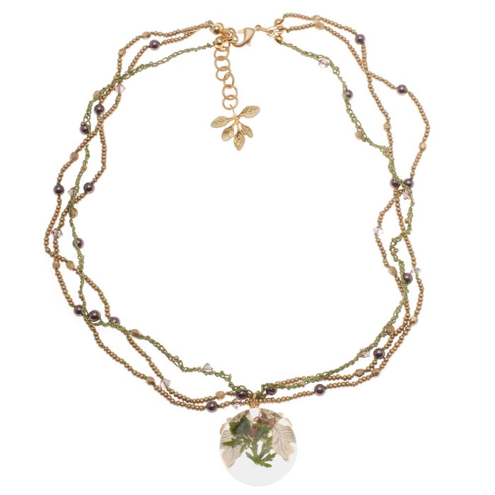 Retired - Cherished Flower Necklace