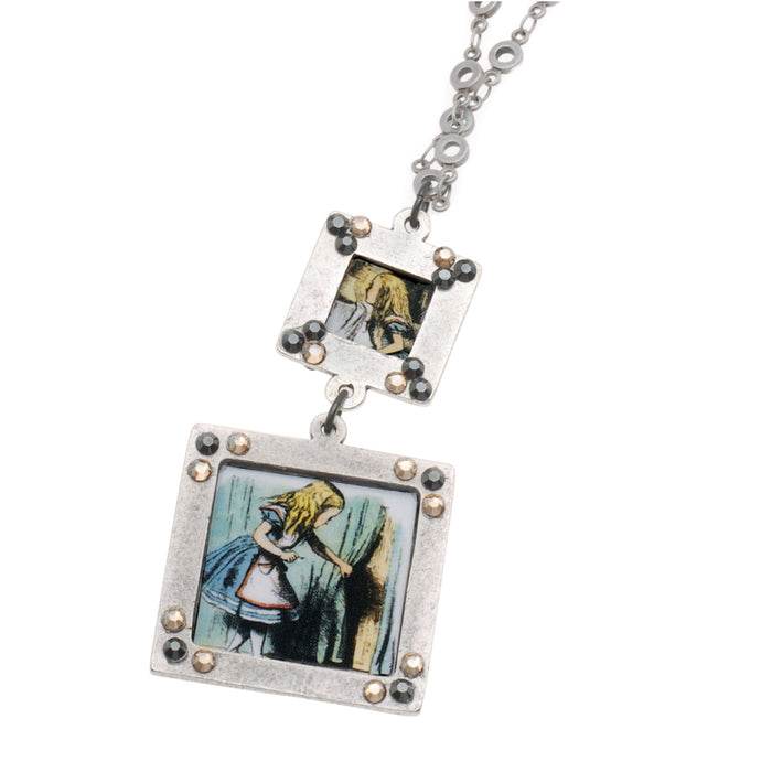 Retired - Alice In Wonderland Reversible Necklace
