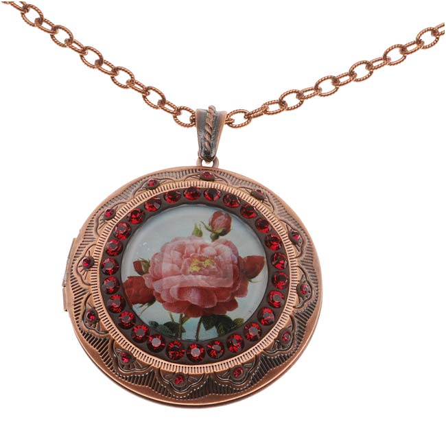 Retired - Tea Rose Locket