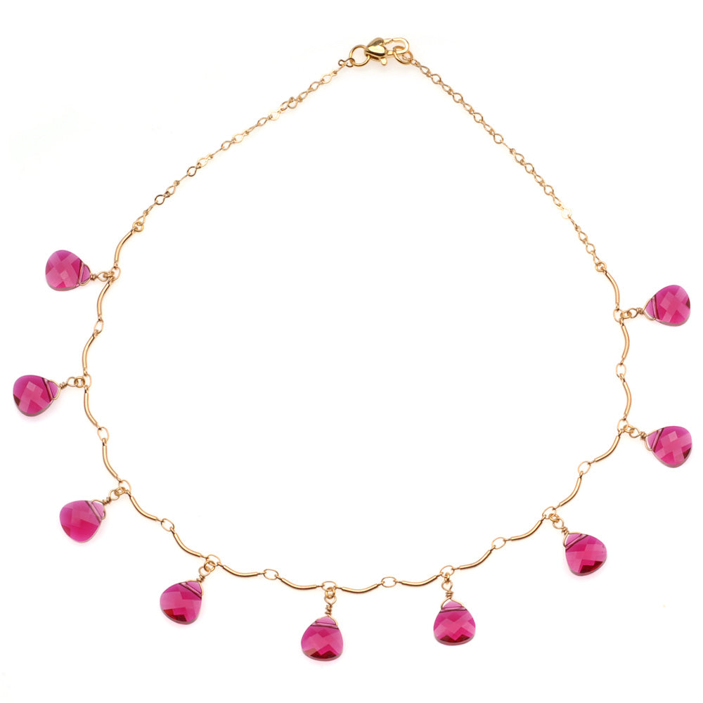 Retired - Radiant Ruby Necklace