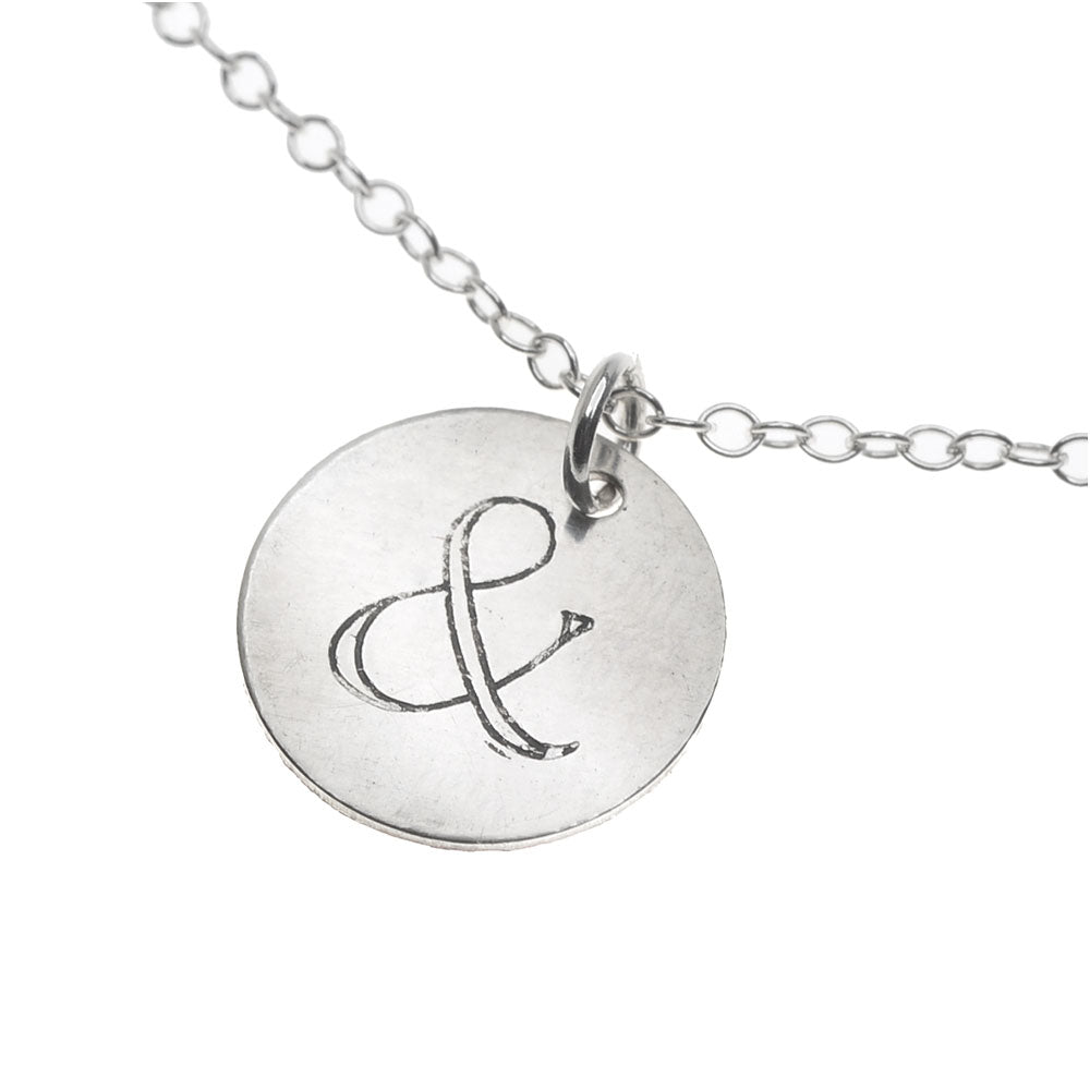 Retired - Ampersand Necklace