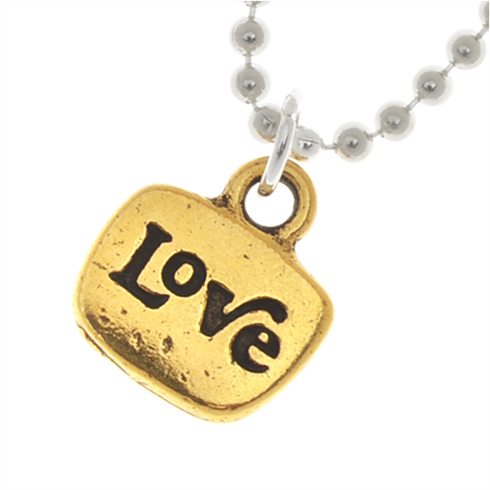 Retired - Two-Tone Love Necklace