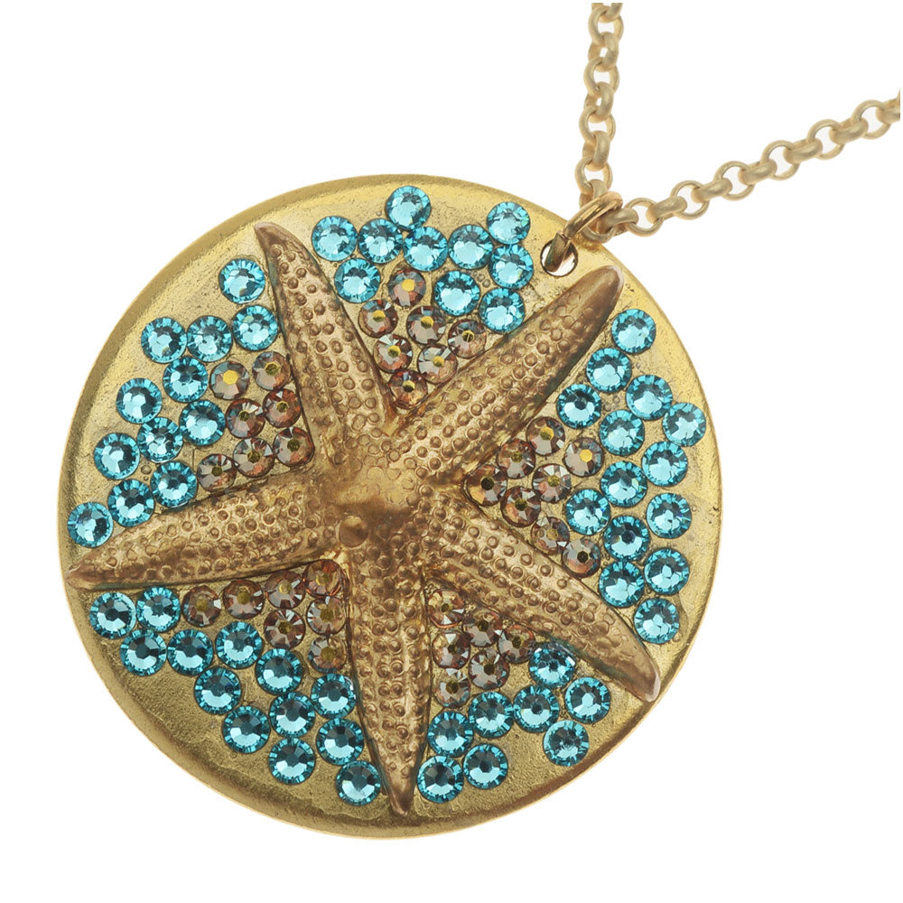 Retired - Sparkly Starfish Necklace