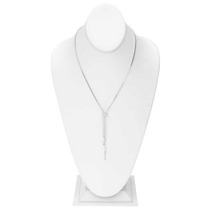 Swarovski Slider Lariat Necklace
