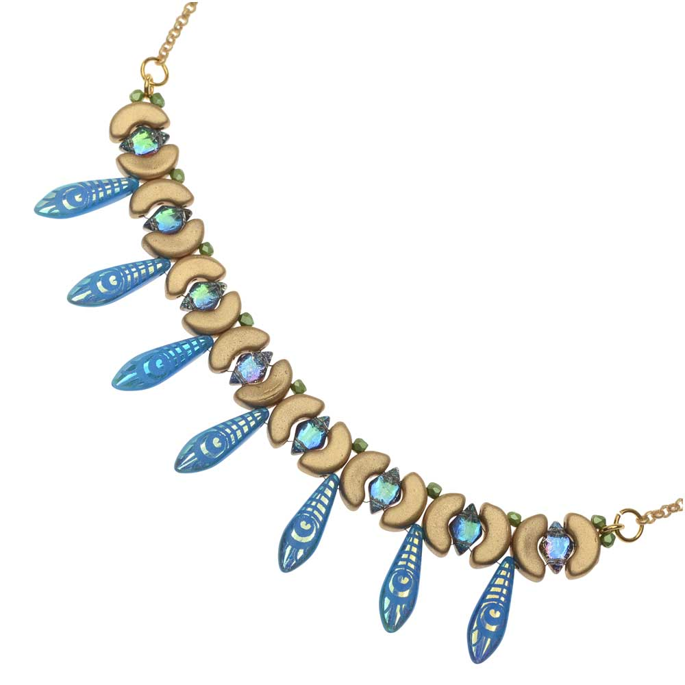 Retired - Flight of the Peacock Necklace