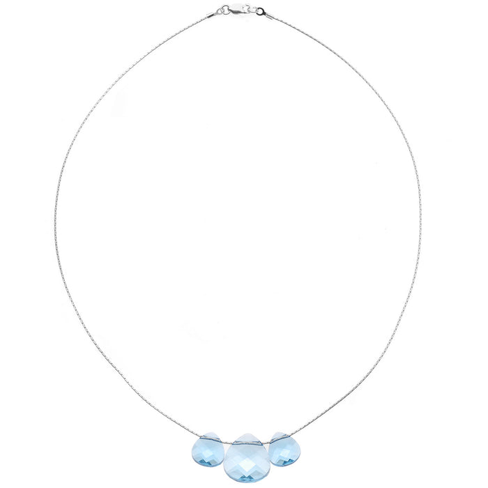 Treasured Moments Triple Briolette Necklace