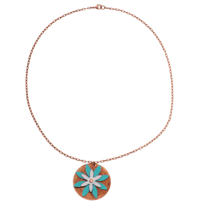 Retired - Flower Power Necklace in Daybreak