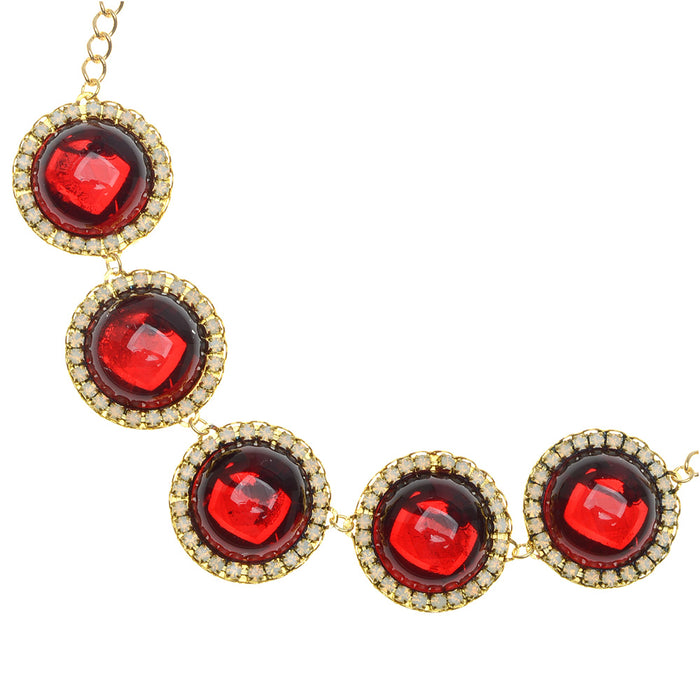 Retired - Holiday Elegance Necklace in Ruby