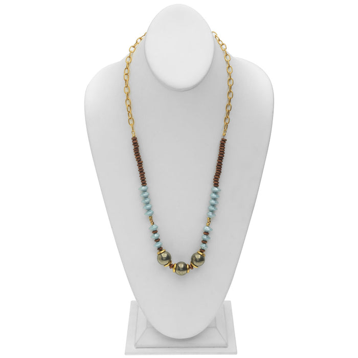 Retired - The Fremont Necklace - Seafoam