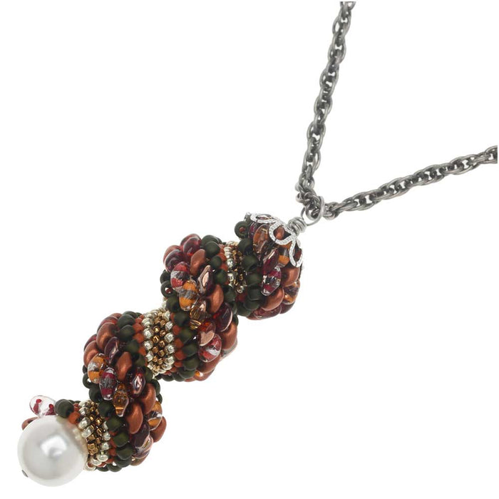 Cornucopia Swirl Necklace