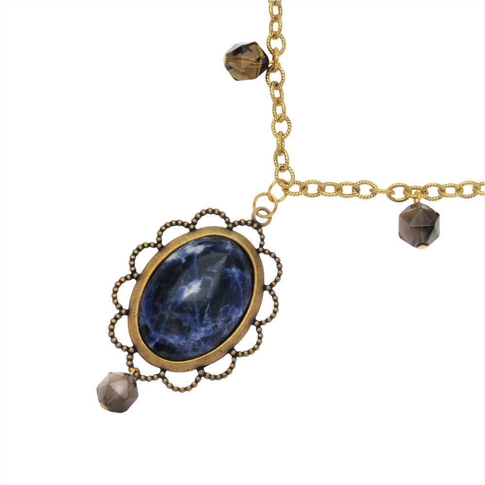 Retired - Sodalite Delite Necklace