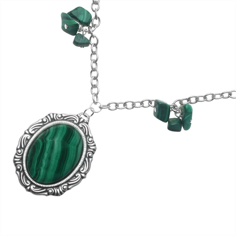 Retired - Malachite Delite Necklace