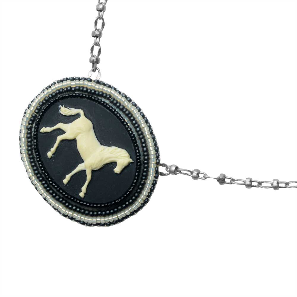 Retired - Le Cheval Necklace