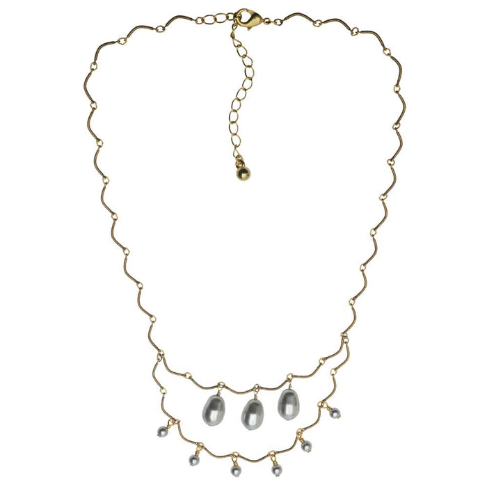 Pearl Trine Necklace