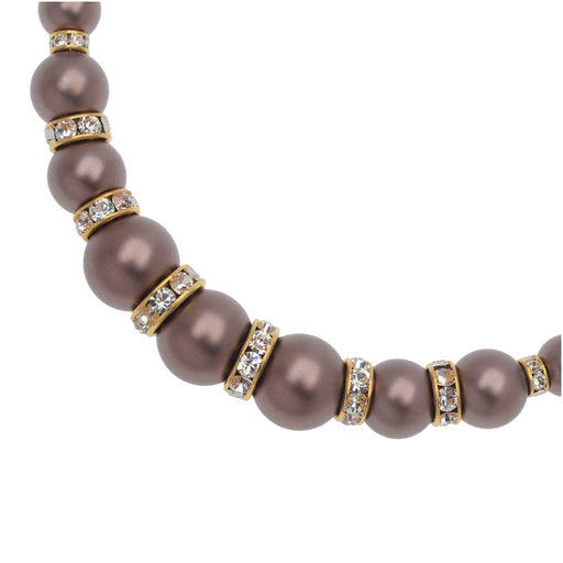 Retired - Timeless Velvet Swarovski Pearl Necklace