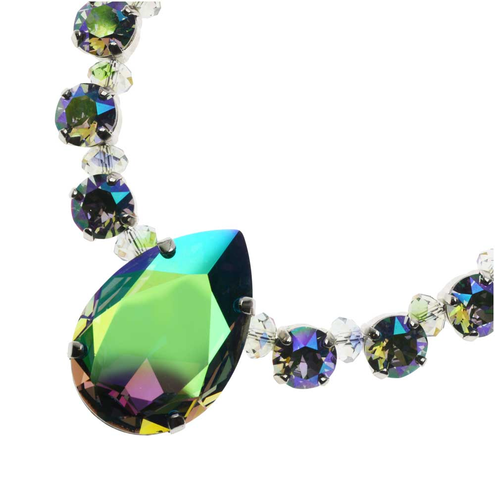 Parisian Waltz Swarovski Crystal Necklace