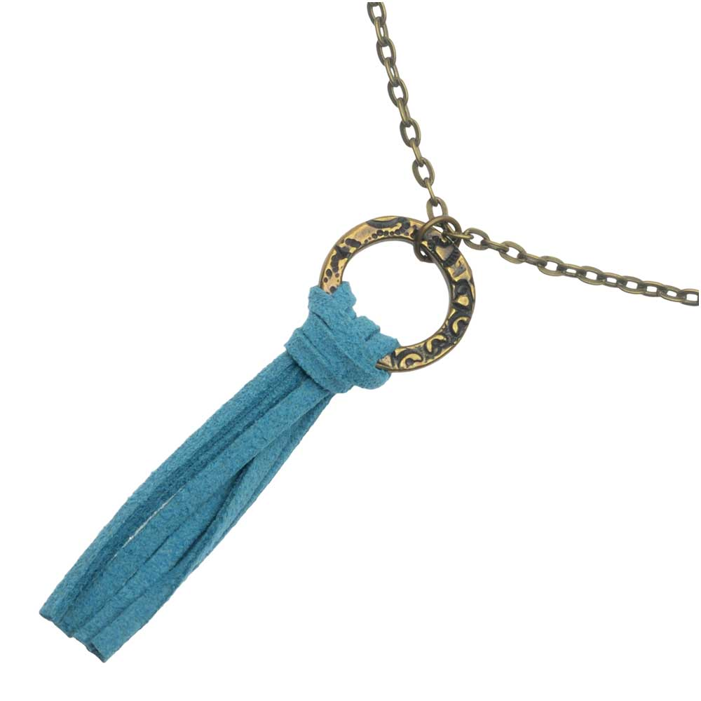 Retired - Lark's Head Tassel Necklace
