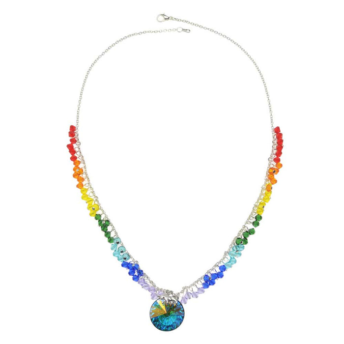 Rainbow and Unicorn Necklace