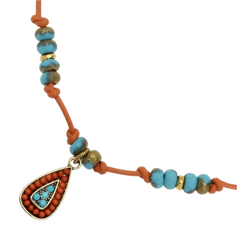 Retired - Taos Knotted Necklace