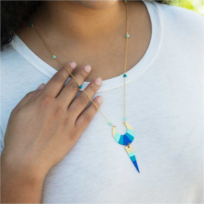 Retired - Ocean Tides Necklace