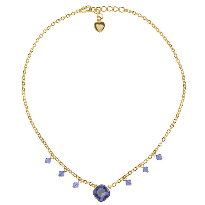 Tanzanite Tango Necklace