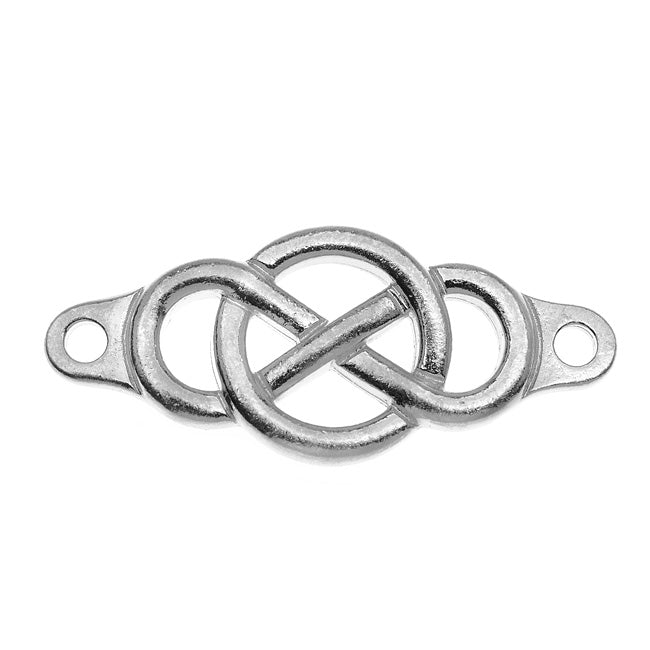 TierraCast Antiqued Lead-Free Pewter Infinity Link 15x35mm - 1 Piece