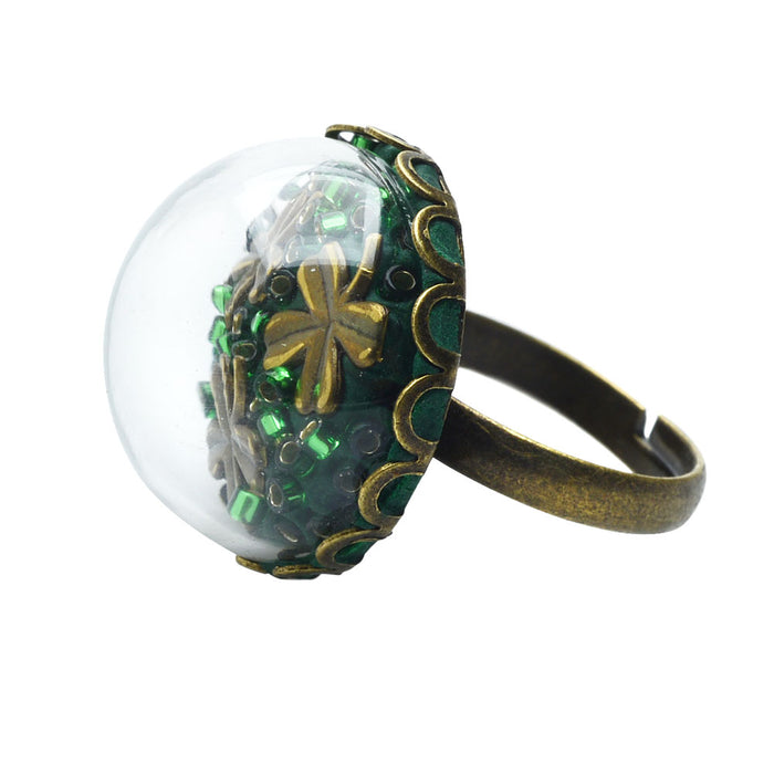 Retired - Clover Dome Ring