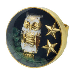Guardian Owl Ring
