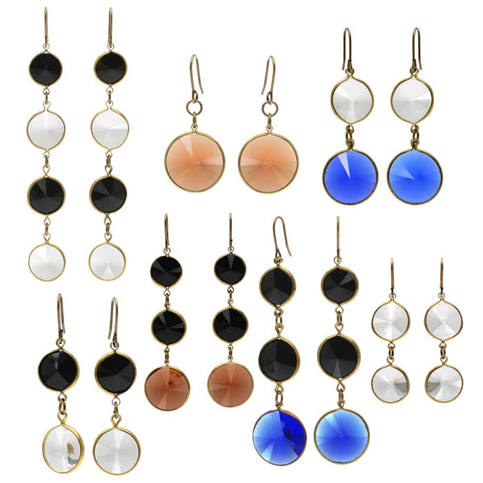 Retired - Vintage Lucite Rivoli Earring Set