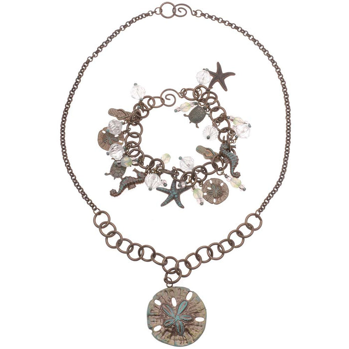 Retired - Under Sea Odyssey Charm Bracelet and Necklace Set