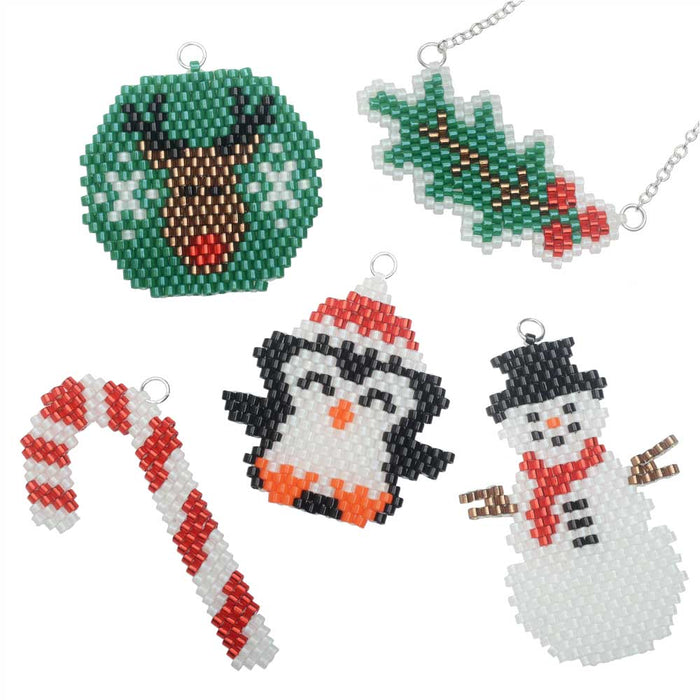 Set of Winter Charms