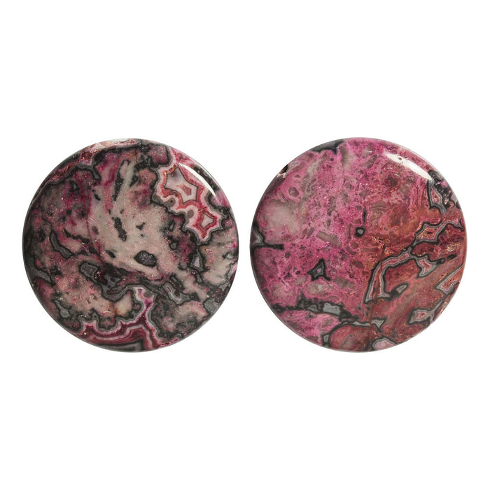 """1/"""" 6 Floral Buttons 25mm Wooden Flower Focal Sewing Buttons Crafts"""