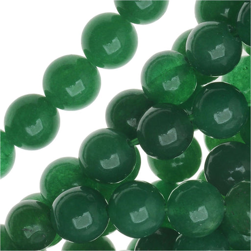 Gemstone Beads, Green Aventurine, Round 6mm, 15.5 Inch Strand