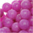 Gemstone Beads, Bright Fuchsia Candy Jade, Round 8mm, 15.5 Inch Strand
