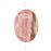 Medium Pink Rhodochrosite Oval Pendant Bead 22 x 30mm (1)