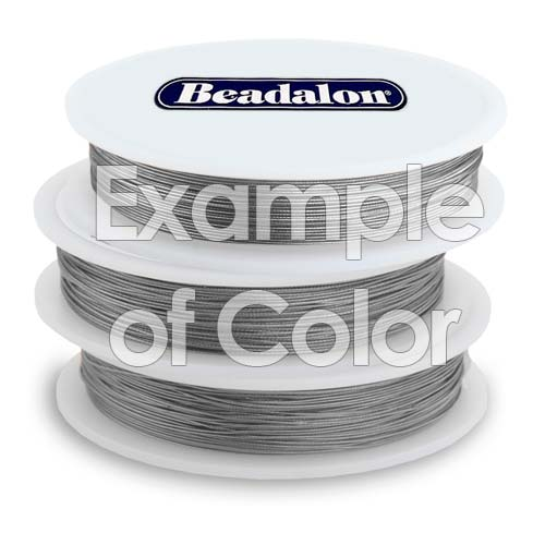 Beadalon Wire Standard Bright 7 Strand .010 Inch / 30Ft