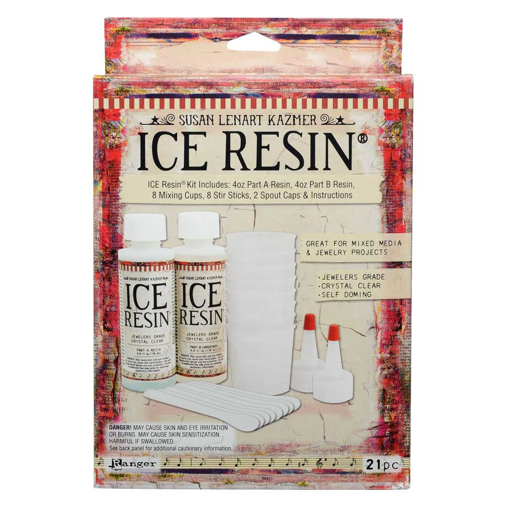 ICE Resin Jewelers Grade Clear Casting Epoxy Resin 8 oz Kit