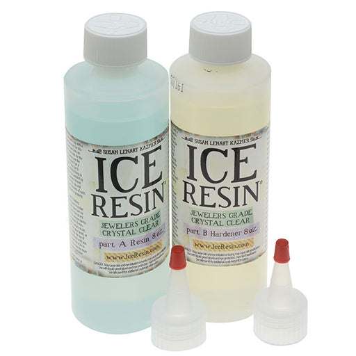 Ice Resin Jewelers Grade Clear Casting Epoxy Resin 16 oz Refill Kit