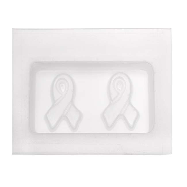Resin Epoxy Mold For Jewelry Casting - Awareness Ribbon
