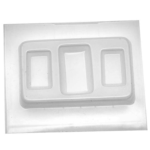 Resin Epoxy Mold For Jewelry Casting - Large And Small Rectangles