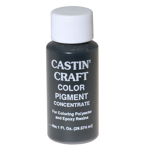 CASTIN CRAFT Casting Epoxy Resin Opaque Black Pigment Dye 1 Oz
