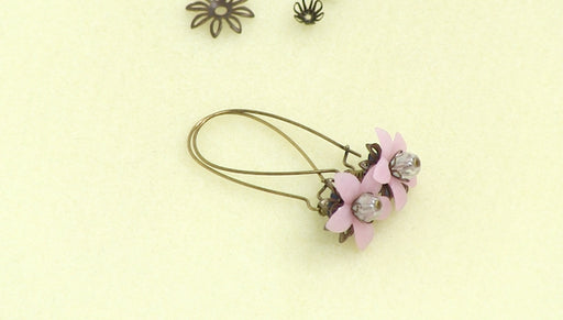 Instructions for Making the Floral Drop Lucite Earring Kit