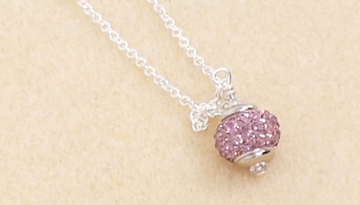 Instructions for Making the Pave Crystal Birthstone Necklace Kit